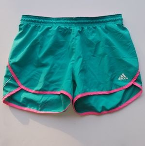 Womens Adidas active wear shorts Size Medium